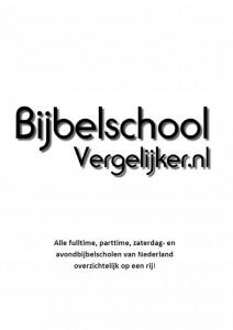 Poster Bijbelschool-vergelijker.nl